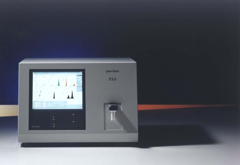 Partec Flow Cytometry Particle Analysing System Pas Iii